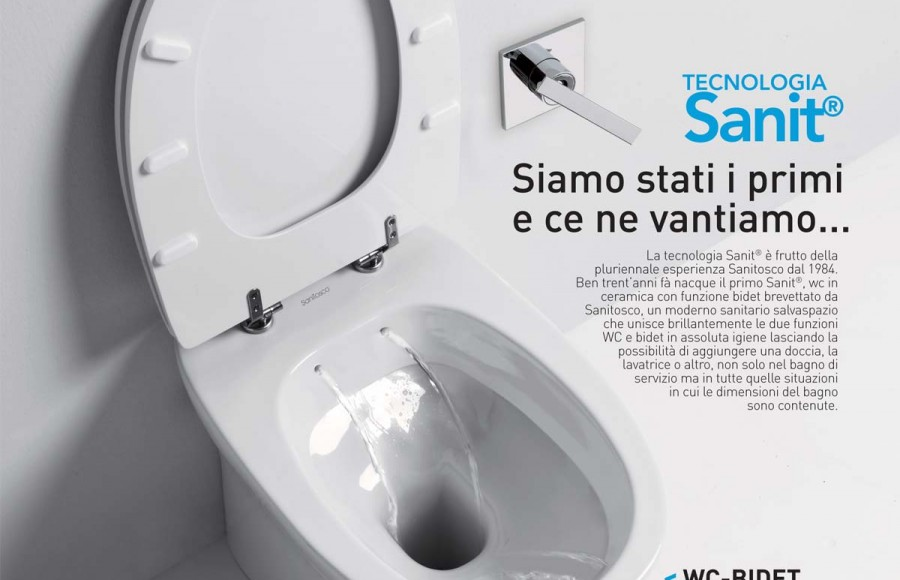 Wc Con Scarico Piccolo.Sanitisco Sanitari E Design Up