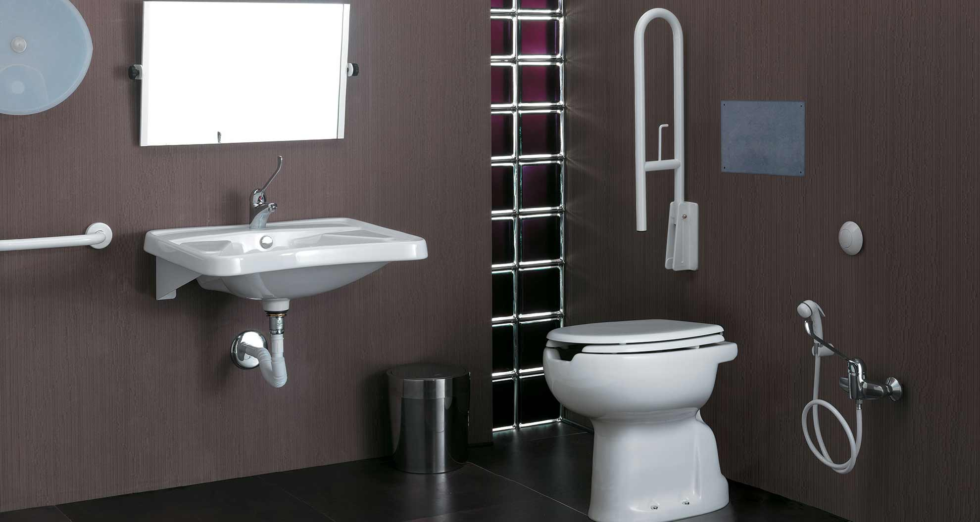 Sanitari E Accessori Bagno Disabili.Ausil Line Sanitosco Sanitari E Design